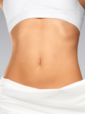 Image of a woman's stomach area after Body Contouring